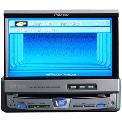 Pioneer AVX-P7650DVD เครื่องเสียงรถยนต์ สินค้ามือสอง